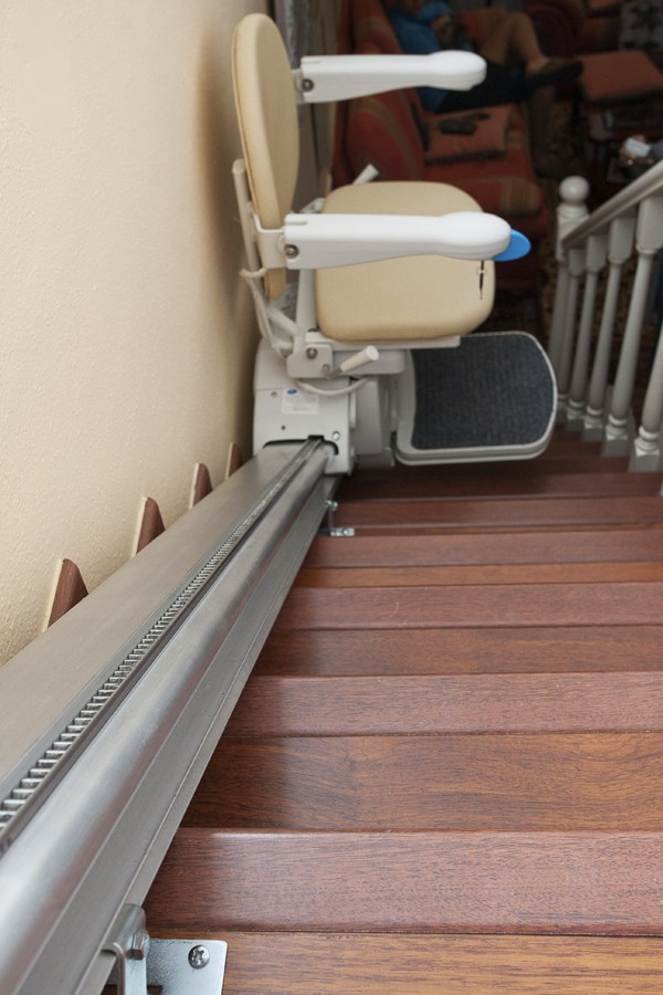 Silla salvaescalera inclinada